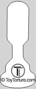 Outline of 1,25 Inch Electrode