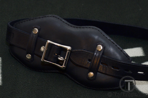 The Mr S Locking Front Buckle Gag