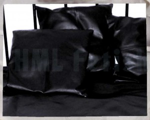 HML Leahter Pillow Cases