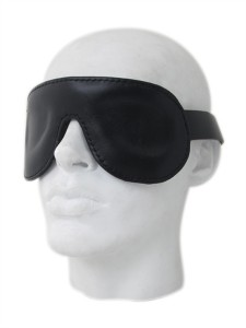 Mister B Premium Leather Blindfold