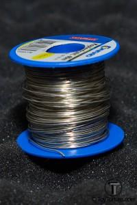Barrel of Silver Covered Copper Wire