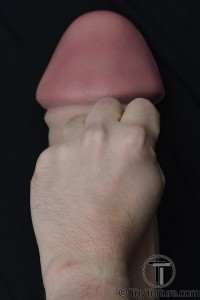 My Size M hand compared to the Dildo