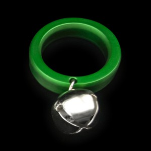 JINGLE BALLS cockring OxBalls green X750