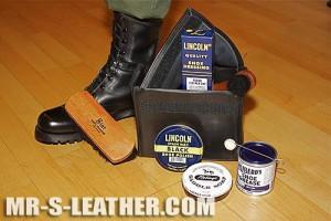 Mr S Boot Black Kit