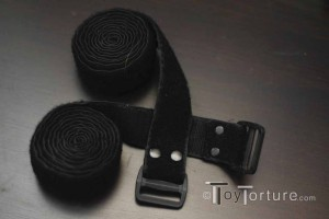 A Pair of Police Velcro Restraints