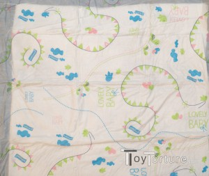 Back Print of a Changing Table Cover