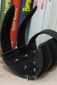 Detail of the Sheath's Pins and Velcro Closing Straps