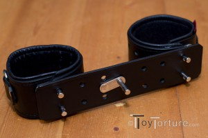 The Toy used as Rigid Cuffs