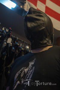The HML Fetish Leather Isolation Hood