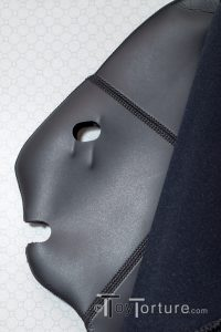 Detail of the Inside Mask behind the Front Zipper