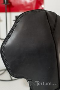 The 665 Leather Neoprene Confinement Hood