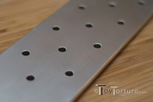 Detail of the Holes to Reduce Air Drag