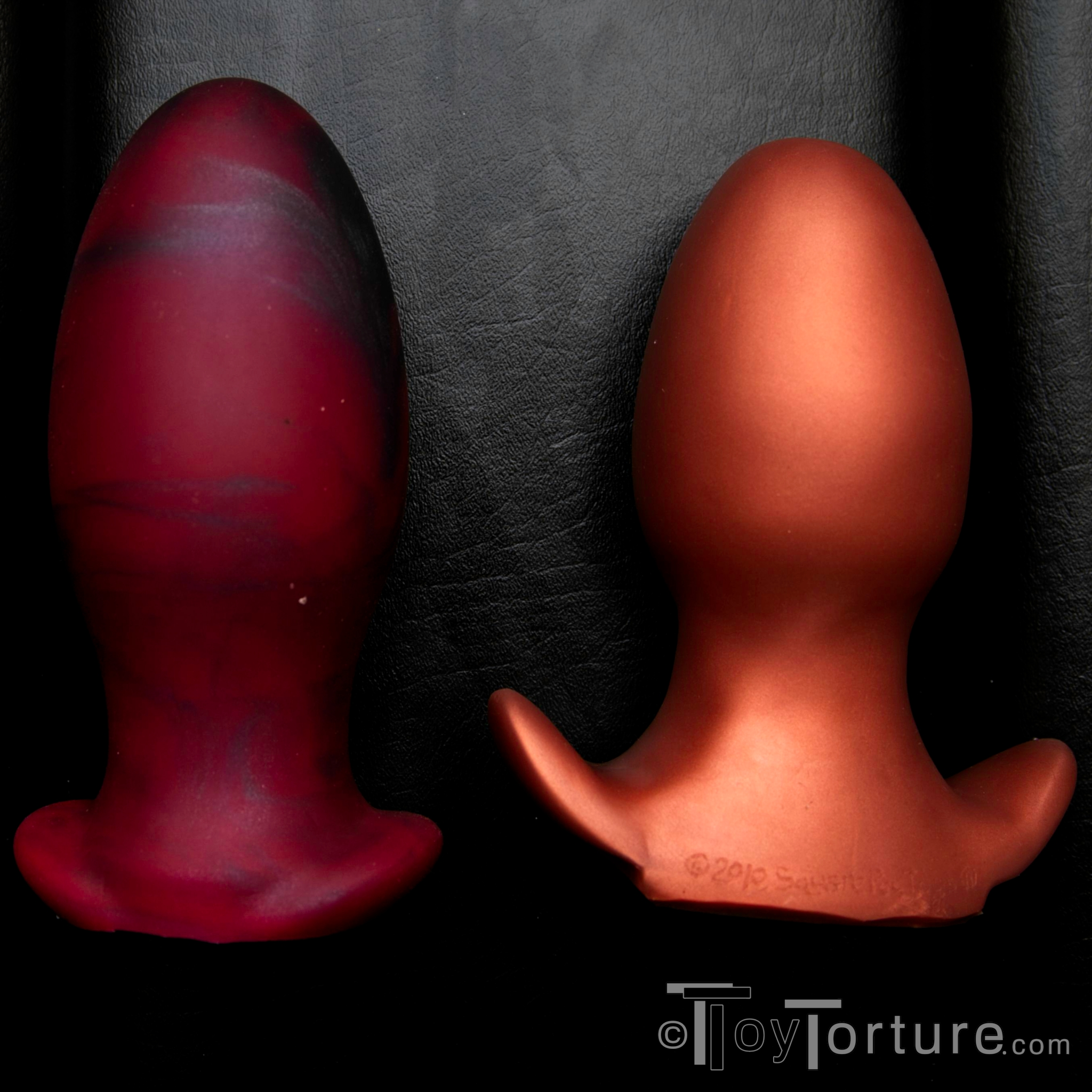 Bad dragon toys in use
